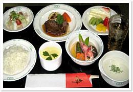 お祝い膳:お肉の献立